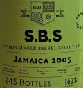1423_SBS_Jamaica_2005_New_Yarmouth_13_Jahre_Cask_Strength_ml (2)